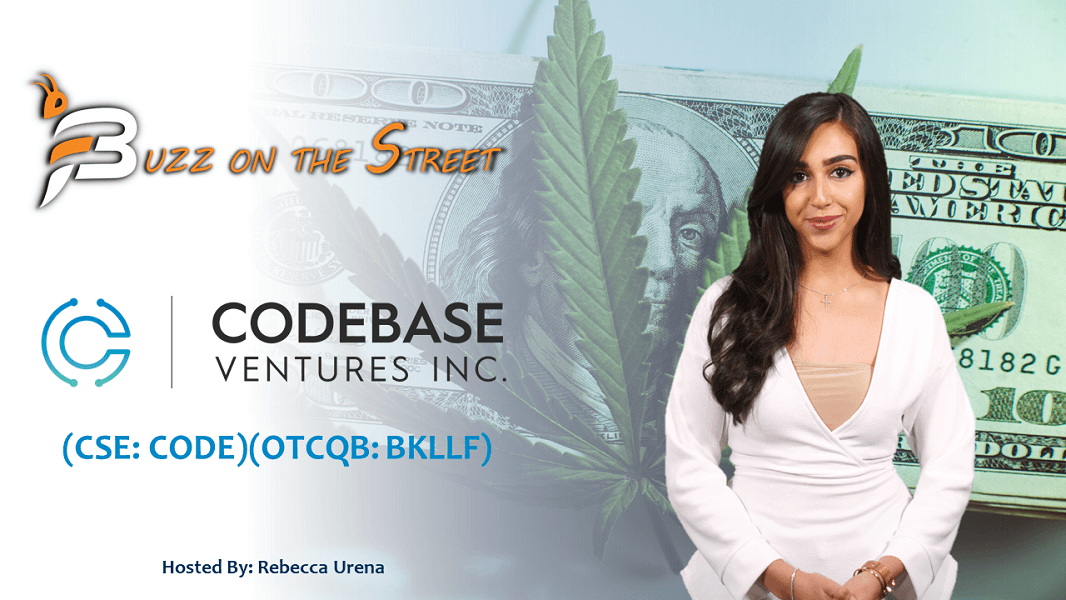 """The Latest """"Buzz on the Street"""" Show: Featuring Codebase Ventures (CSE: CODE) (OTCQB: BKLLF) Cannabis Investment"""