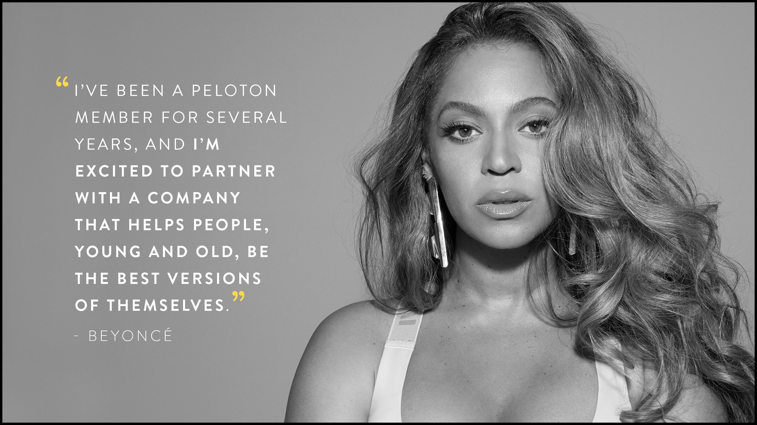 Beyoncé & Peloton Partner For The Beyoncé Artist Series Benefitting HBCU Students